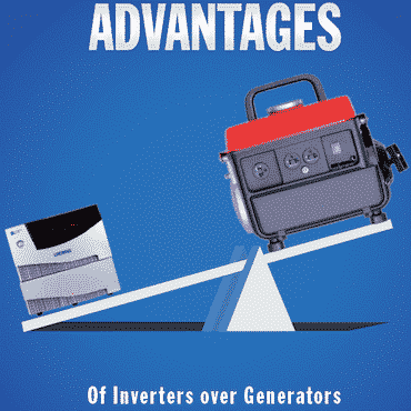 Advantages of inverters over generators