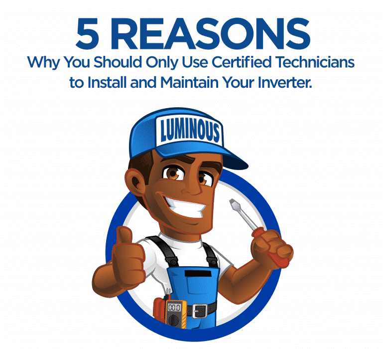 Why You Should Only Use Certified Technicians to Install and Maintain Your Inverter