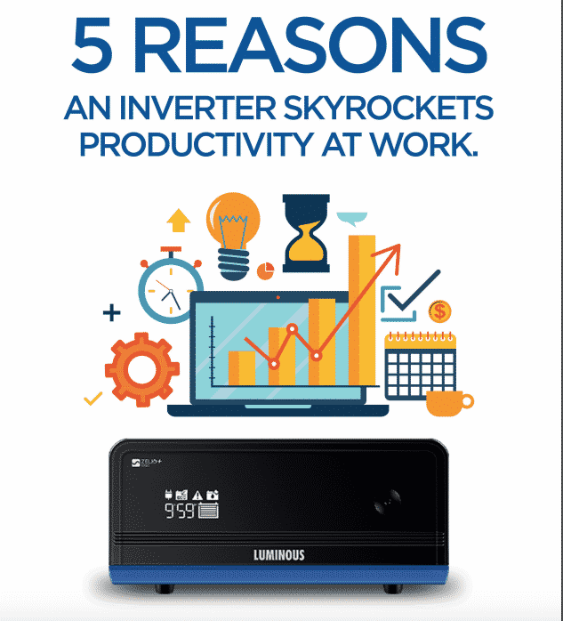 5 Reasons an Inverter Skyrockets Productivity at Work