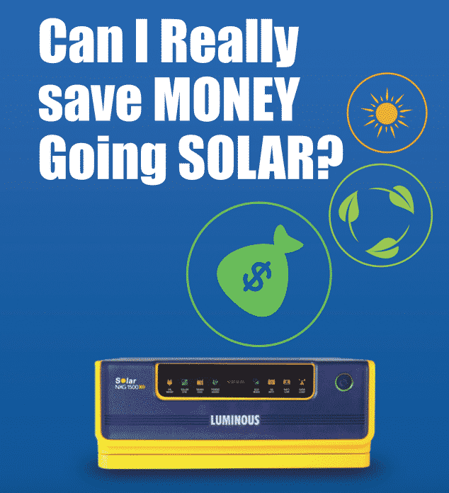 Can I really save money going solar